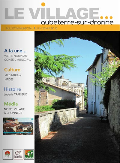 Le Village -Bulletin Municipal –  Juin 2014