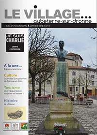 Le Village -Bulletin Municipal –  Janvier 2015