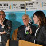 Inauguration de la «grande école du numérique»