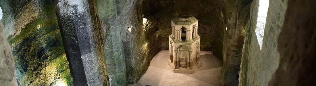 église souterraine charente