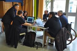 Hackathon à la Rural Web Factory.