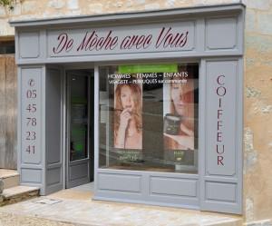 Salon de coiffure «de mèche avec vous»