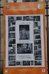 [:fr]Une des planches réalisée par le dessinateur Pierre Marty avec le concours des élèves de l'école de Saint Romain.[:]