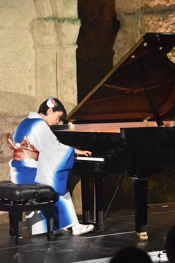 Le public conquis par Aruhi la jeune pianiste Japonaise de retour dans le cadre des Nuits Musicales.