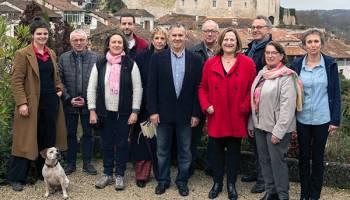 Élections municipales: succès très net de la liste conduite par Charles Audouin.