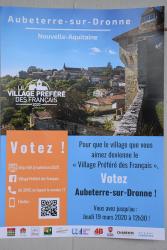 AUBETERRE VILLAGE PRÉFÉRÉ DES FRANCAIS?