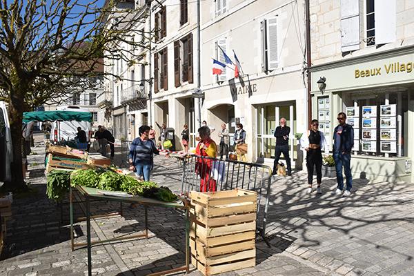 Marché Aubeterre